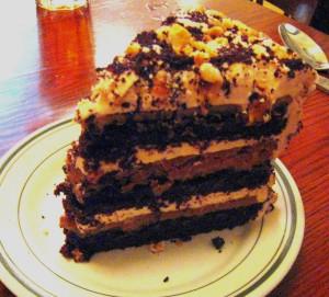 Crunch cake Nickel Diner