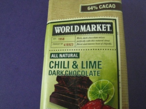 Cost Plus Chili & Lime Chocolate