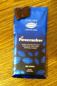 Chuao Firecracker Chocolate bar
