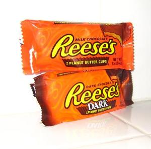 Reeses Milk & Dark
