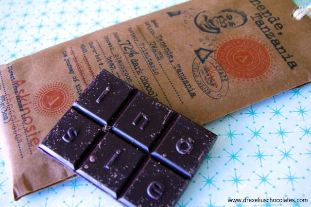 Askinosie Chocolate Tanzania bar-2011