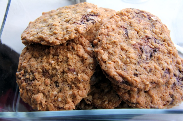 Chocolate Chip Oatmeal Salt Cookies - Drexelius Chocolates